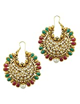 Ethnic Indian Bollywood Jewelry Set Traditional Fashion Imitation EarringsCHEA0213MG