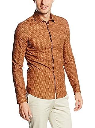 Belstaff Camisa Hombre Blackburn Knurling Print