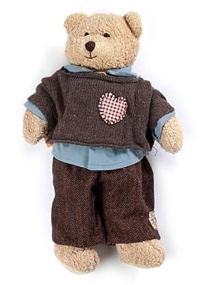 My Doll Teddybär Cuore braun