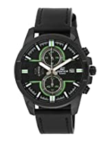 Casio Edifice Chronograph Black Dial Men's Watch - EFR-543BL-1AVUDF(EX225)