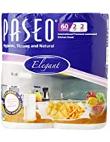 Paseo Tissues Plain Kitchen Towels - 2 Rolls