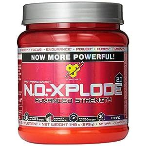 BSN NO-Xplode Advanced Strength Powder-Grape
