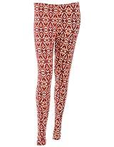 Lux Lyra Women's Cotton Regular Fit Leggings (LUXPA20)