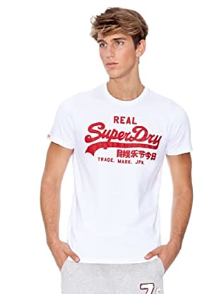 Superdry Camiseta (Blanco)