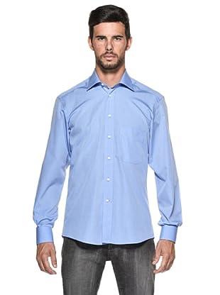 Camicissima Camisa Extra Slim Fit (Azul)
