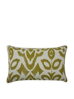 Thomas Paul Ikat-Print Feather Pillow, Ochre