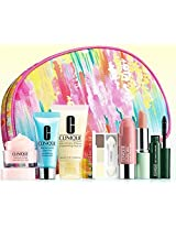 Clinique 2015 8pc Makeup & Skincare Gift Set: Lotion+, New Turnaround & More!($85 Value)