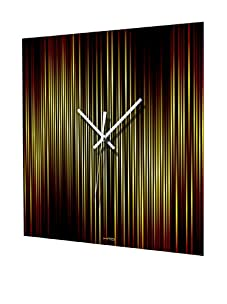 HangTime Lineas Fire Wall Clock