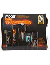 Axe Dark Temptation 5 Piece Gift Set With Laptop Sleeve