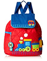 Stephen Joseph Quilted Backpack, Train, One Size
