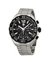 Tag Heuer Formula One Chornograph Black Dial Stainless Steel Men'S Watch - Thcaz1110Ba0877