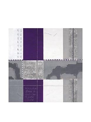 PlatinArt Cuadro Purple Rain I 100 x 100