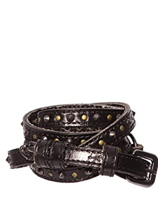 Pepe Jeans London Cinturón Franklin Junior (Negro)