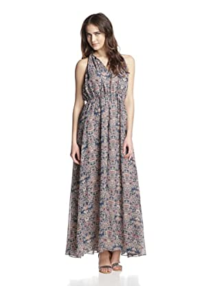 Greylin Women's Floral Maxi Dress (Nude)
