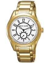Pierre Cardin Analog White Dial Men's Watch - 3669