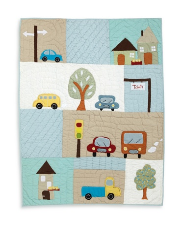 Amity Home Traffic Day Baby Quilt (Multi)