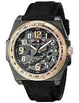 Swiss Military by R Men's 5050537NR N Commando Analog Display Swiss Quartz Black Watch