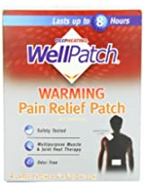 Wellpatch Warming Pain Relief Pads, 4 Count