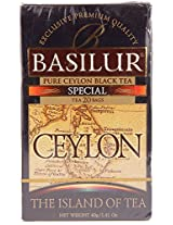 Basilur Island of Tea Foil Enveloped Tea Bags, Special, 40g