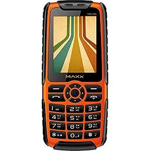 Maxx MX200 Mobile Cum Portable Powerbank (Orange Black)