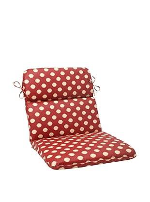 Waverly Sun-n-Shade Solar Spot Henna Chair Cushion (Red/Tan)