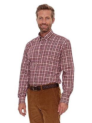 Cortefiel Camisa Median (Burdeos)
