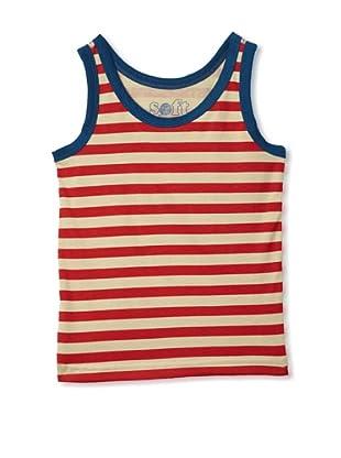 Soft Clothing Kid's Mia Tank Top (Capetown Stripe)