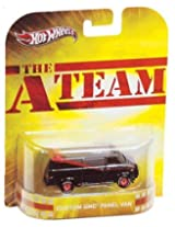 Hot Wheels 2012 Retro Series A-Team Custom GMC Panel Van Die-Cast 1:64 Scale