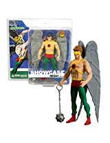 Dc Direct Year 2008 Series 1 Showcase 7 Inch Tall Action Figure Hawkman With Chain Mace, Hawk Mask And Display Base