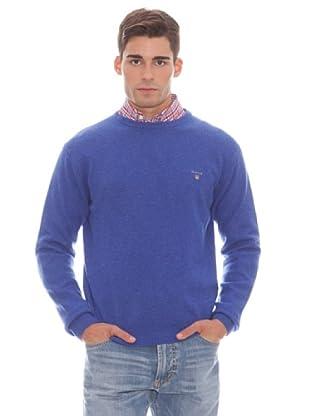 Gant Jersey Liso Redondo (Azul)
