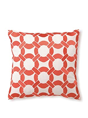 D.L Rhein Mod Link Embroidery Pillow, Mango, 16