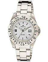 Maxima Analog Silver Dial Men's Watch - 39312CMGI