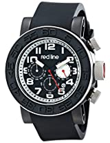 red line Men's RL-50052-BB-01-SA Xlerator Analog Display Japanese Quartz Black Watch