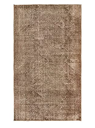 eCarpet Gallery One-of-a-Kind Hand-Knotted Anatolian Rug, Brown/Khaki, 3' 10