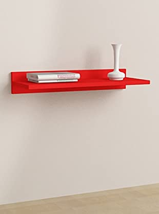 Decortie by Homemania Estante Duz (Rojo)