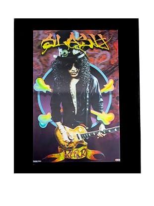 Slash Framed 3-D Hologram Poster
