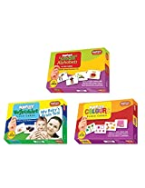 Krazy flash cards Set of 3(Small Alphabet,Vegetable,Colours)