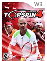 Top Spin 4 - Nintendo Wii