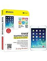 Amzer 96705 Kristal Tempered Glass Screen Protector for Apple iPad mini with Retina Display, Apple iPad mini