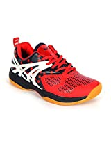 BALLS P-SQUARE 100 R/N BADMINTON SHOE (IND / UK 9)