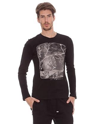 Timeout Camiseta Cartel (negro)