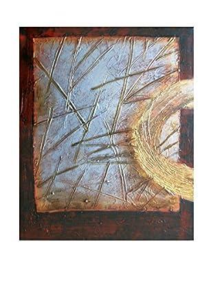 Legendarte Pintura al Óleo sobre Linezo Libro Sacro 50X60 Cm multicolor