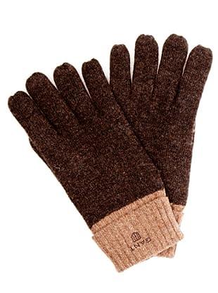Gant Guantes Bicolor (marrón)