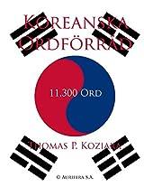 Koreanska Ordforrad (Swedish Edition)