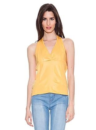 Santa Bárbara Camiseta Tiras (Amarillo)