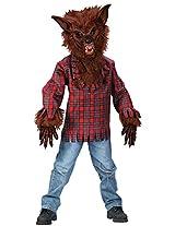 Fun World Kids Boys Scary Werewolf Wolf Man Halloween Costume Medium 8-10