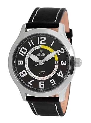 Dogma G7030 - Reloj de Caballero movimiento de quarzo con correa de piel amarillo