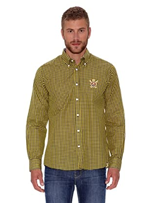 Polo Club Camisa Fitted (Amarillo)
