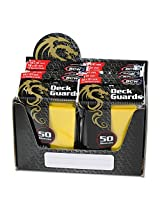 1000 Premium Yellow Double Matte Deck Guard Sleeves