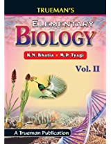 Trueman's Elementary Biology - Vol. 2